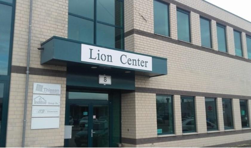 Het Lion Center waar de Business Beurs Boxmeer wordt gehouden.