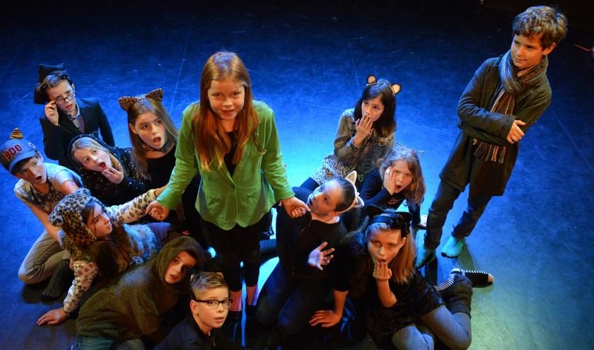 Beeld uit de voorstelling Minoes tijdens het Theaterfestival Windkracht .