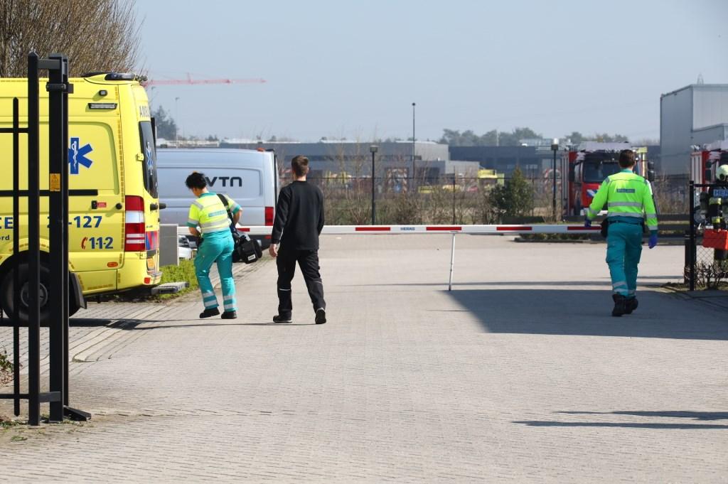 De hulpdiensten op de IJzerweg. (Foto: Charles Mallo / Foto Mallo)  © 112 Brabantnieuws