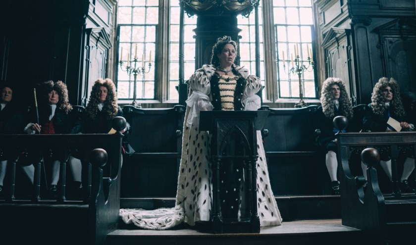 The Favourite gaat over intriges, passie, jaloezie en verraad aan het hof van Queen Anne.