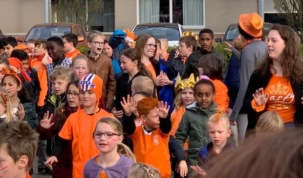 De Koningsspelen op de Canadas en de Peppels in Boxmeer.   © Kliknieuws De Maas Driehoek