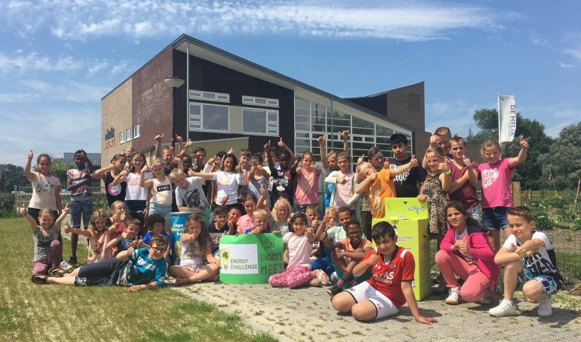 Leerlingen in Heerhugowaard deden al mee met het project; de leerlingen waren enthousiast.