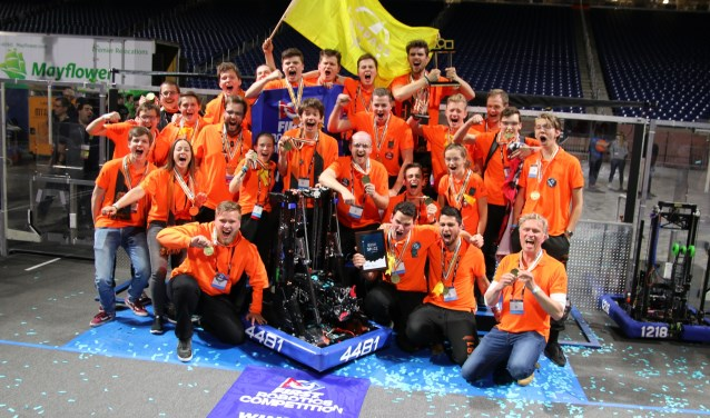 Team Rembrandts pakt als eerste Europese team ooit de wereldtitel