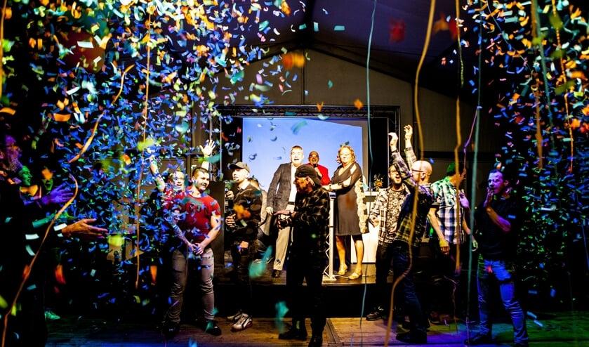 Van Lanen vierde feest! (foto: Diana Derks)