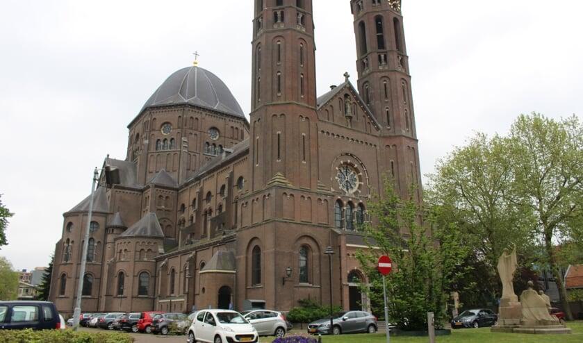 Een gedeelte van de Petruskerk