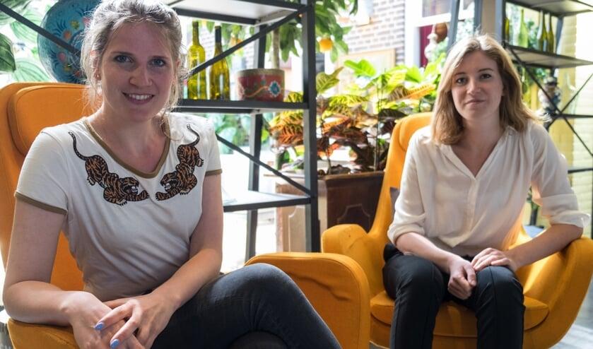 Renée Wijnhoven en Wieke Vrijhoef.