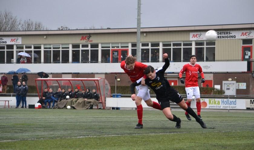 De toekomst van het eerste elftal van JVC Cuijk is nog ongewis. (foto: Gerno de Haas)