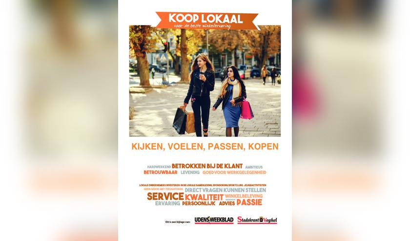 Bij Stadskrant Veghel zit deze week de speciale bijlage 'Koop Lokaal'.