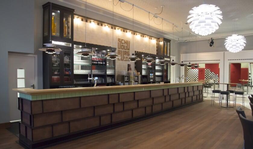 De bars in de Schouwburg Cuijk zijn vervaardigd door Van den Boom Interieurbouw.