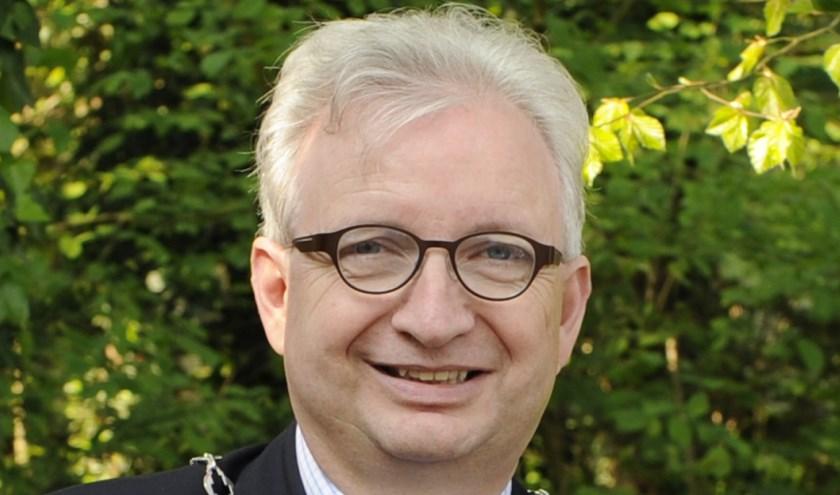 Willem Gradisen, burgemeester van de gemeente Mook en Middelaar.