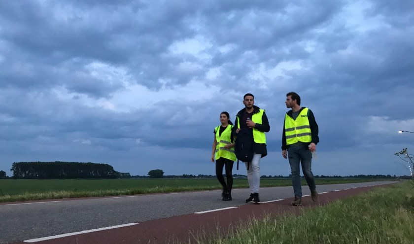 Team Thuis in Oss loopt van 15 op 16 juni de Nacht van de Vluchteling 2019.