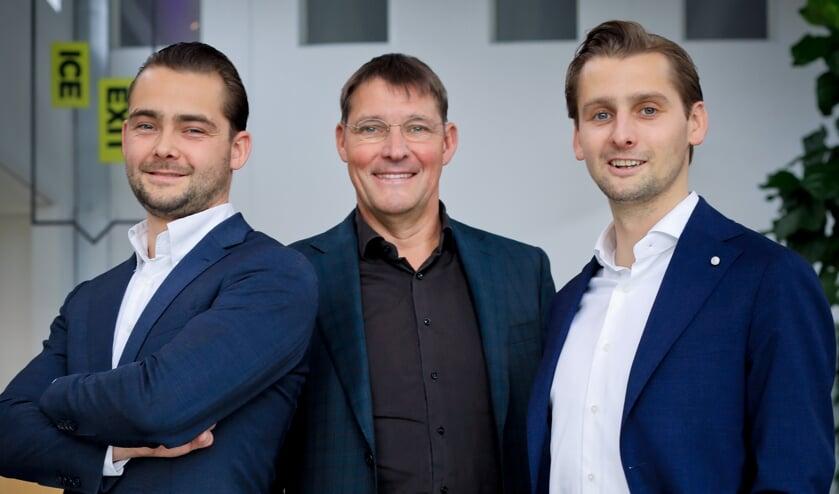 Vincent, Lambèr en Michael Hendriks.