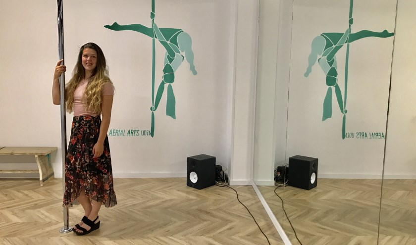 Line Francken in haar studio