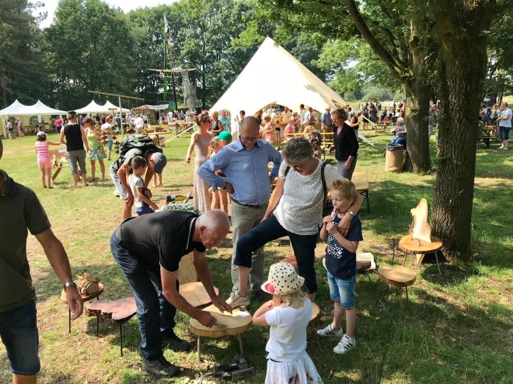 Op zondag 16 juni vindt weer het Schaapscheerdersfeest plaats in de bossen van Sint Anthonis.  © Kliknieuws De Maas Driehoek