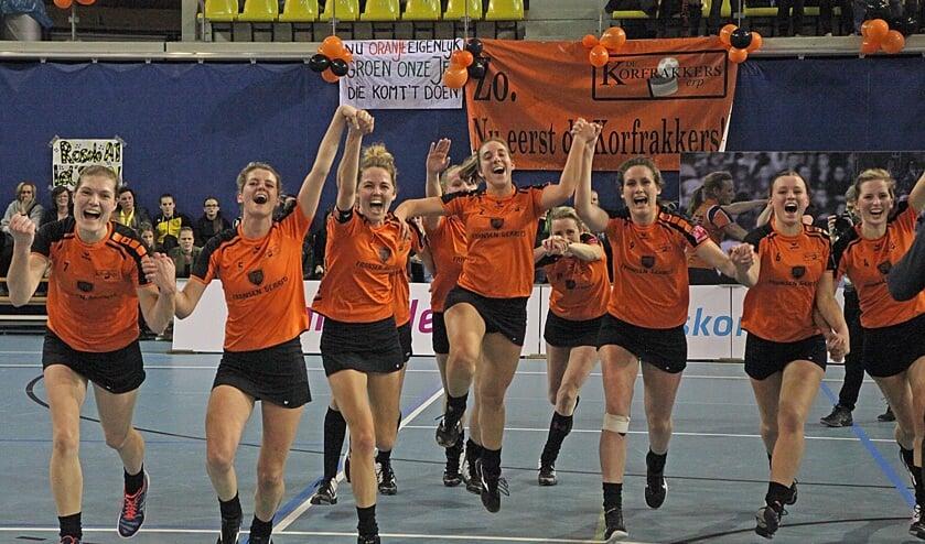 Korfrakkers wil zondag met de titel terugkeren uit Roermond