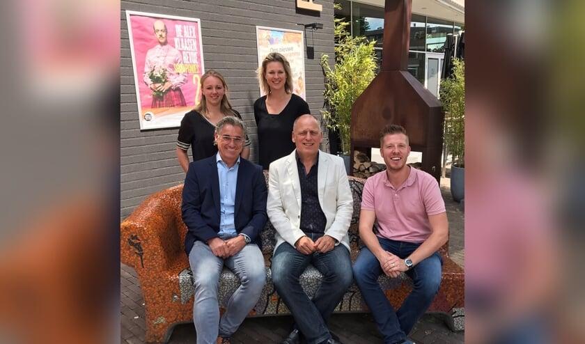 Deze mensen maken het evenement mogelijk: Joyce Timmers, Steven Trienen, Conja Ham, Jan Timmers en Mark Nederhof.