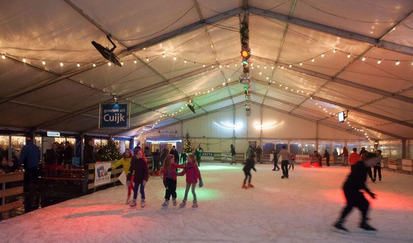Cuijk on Ice: ook komende winter weer vier weken ijspret op Louis Jansenplein.