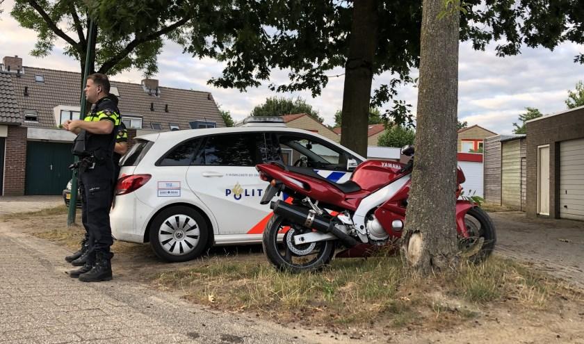 Gestolen motor teruggevonden in Cuijk.