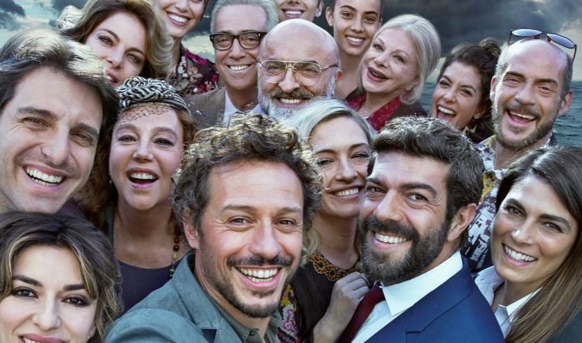 Acteurs in A Casa Tutti Bene.