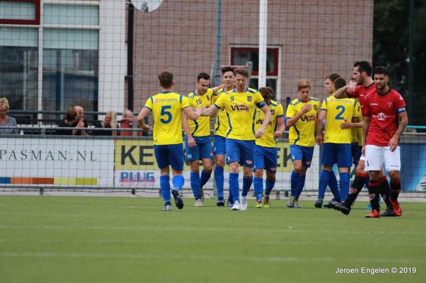FC Rijnvogels - O.S.S.'20 (Foto: Jeroen Engelen)