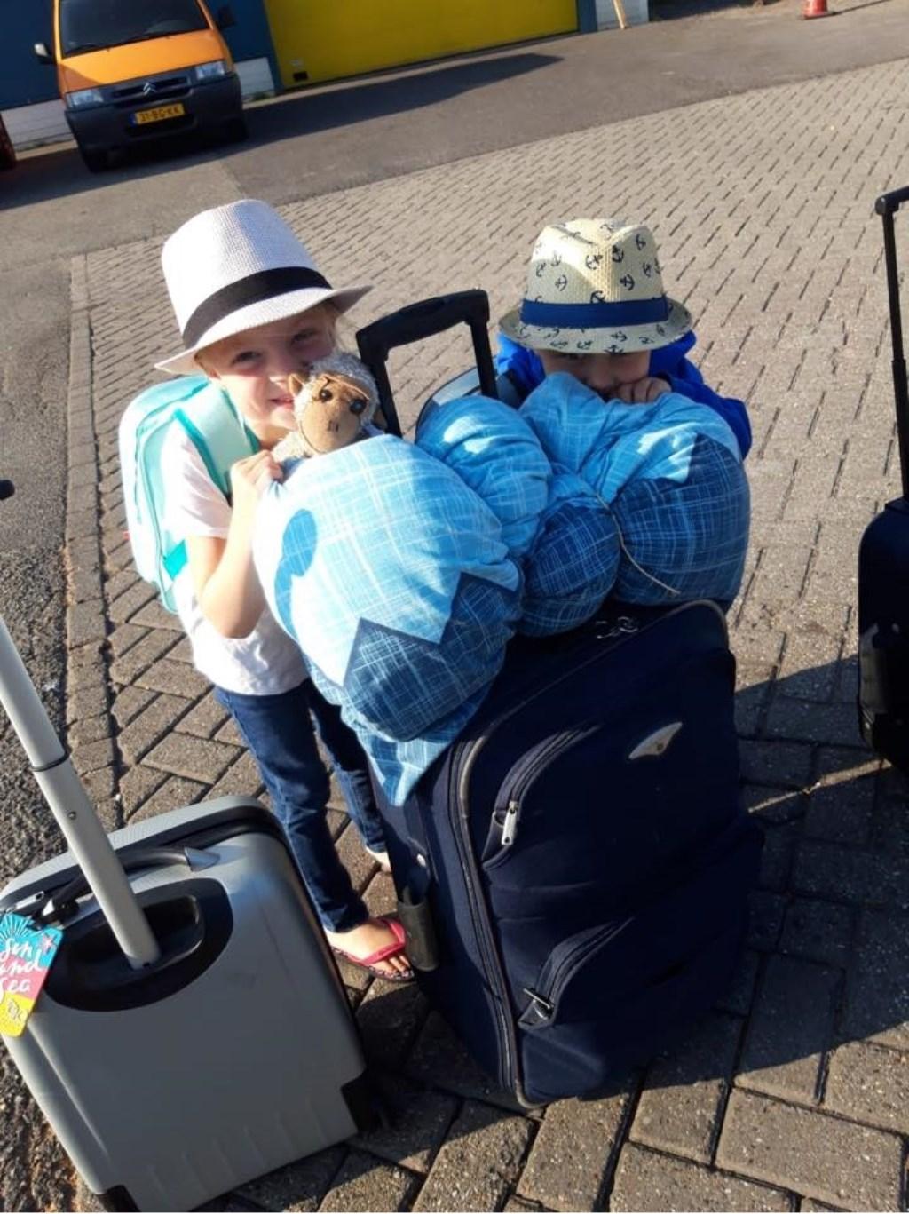 Niels van Dalsum maakte deze foto terwijl ze in Harlingen wachtten op de boot naar Terschelling. © Kliknieuws Uden