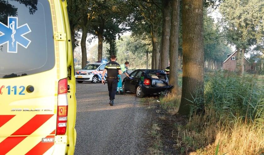 Ongeval op De Quayweg bij Landhorst.