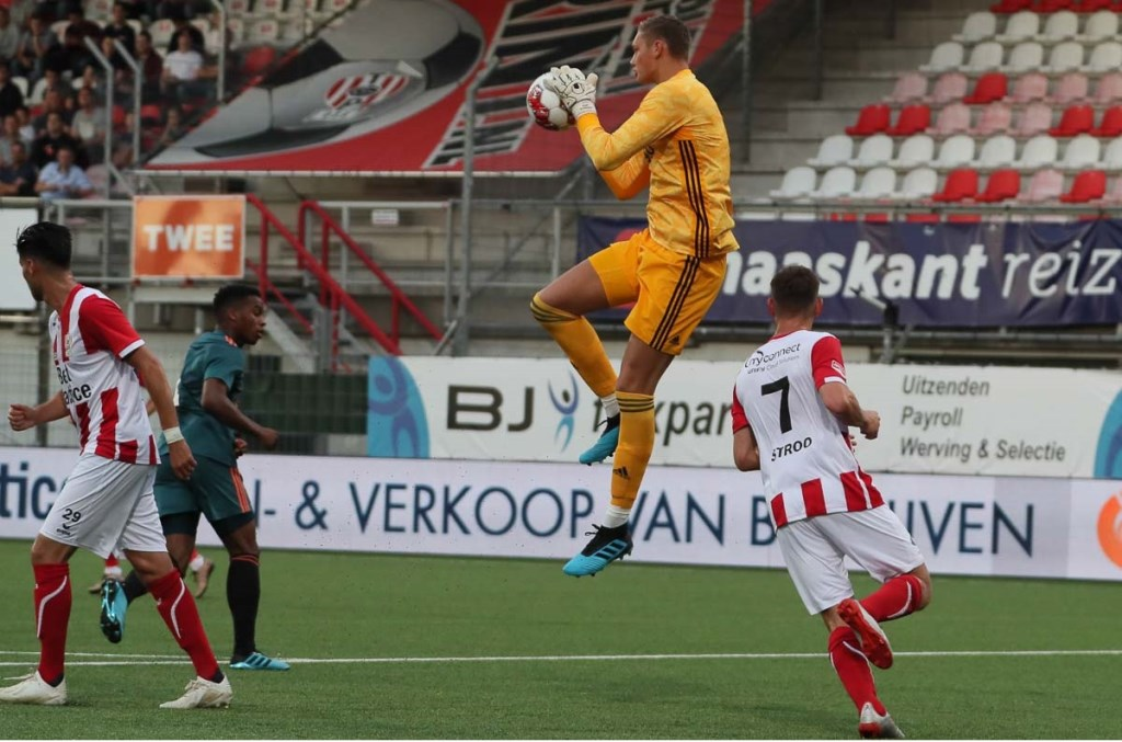 TOP Oss won van Jong Ajax. (Foto: Hans van der Poel) Foto: Hans van der Poel 06 31918770 © Kliknieuws Oss