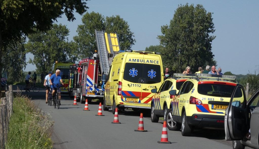 Vrouw overleden bij ongeval in Neerlangel. (Foto: Thomas)  © Kliknieuws Oss