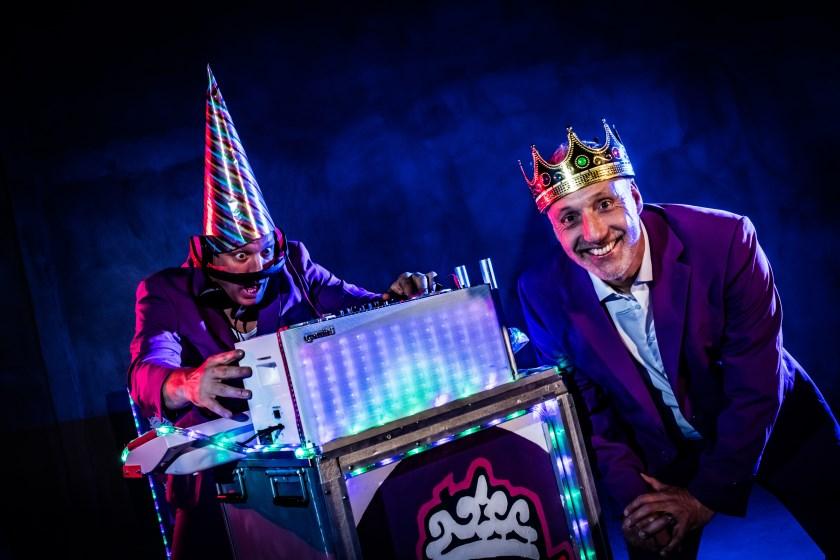 DJ's Wipneus en Pim. (Fotografie Evert van de Worp)