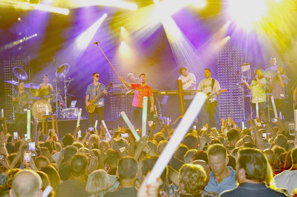 André Hazes en zijn band traden op in het Triavium. Foto: Bas Delhij © Kliknieuws De Maas Driehoek