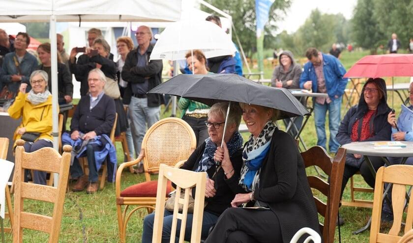 De derde editie van het literair festival Het VerhAal vond afgelopen weekend plaats. (foto: Rene Kuijs)