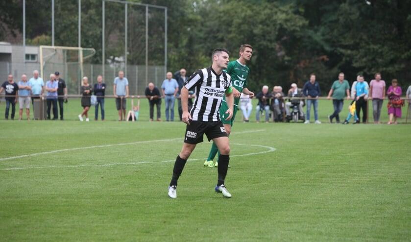 Thijs van Pol scoorde de 1-1 in Heemskerk uit een pingel