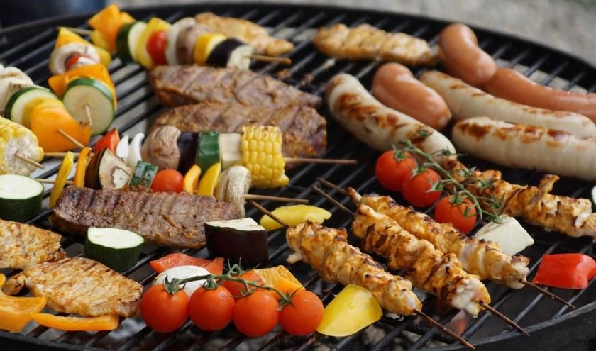Ontmoetingsbarbecue in Gennep.