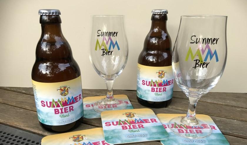 Tijdens SuMmertime in Gennep wordt zaterdag een speciaal biertje geschonken.