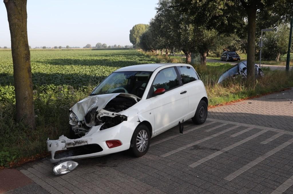Ongeval in Berghem. (Foto: Gabor Heeres / Foto Mallo)  © Kliknieuws Oss