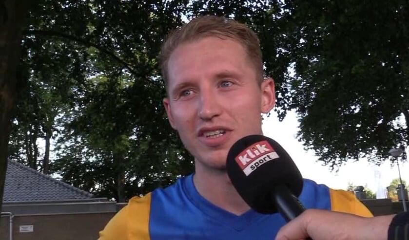 <p>Sjaak Egmond kreeg rood bij Westlandia</p>
