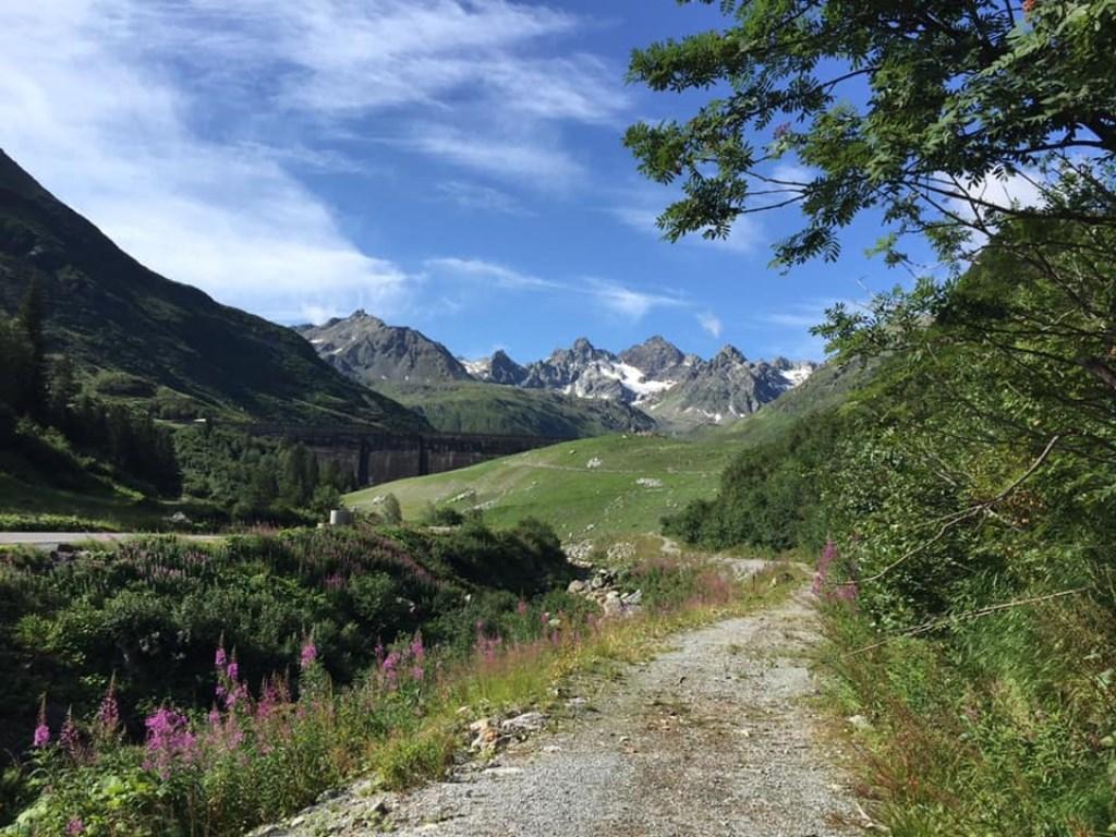 Margareth Goossens ging voor een super mooie wandelvakantie in Oostenrijk, Silberberg Montafon. © Kliknieuws Uden