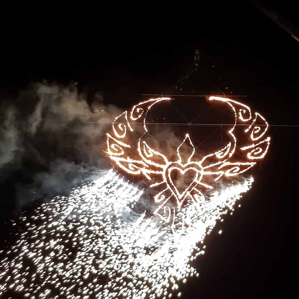 Henrie van Zoggel maakte het Vuurfeest Londonderry in Noord-Ierland mee. © Kliknieuws Uden