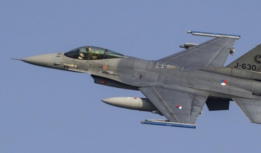 Een van de vliegtuigen die te zien was tijdens de Luchtmachtdagen.