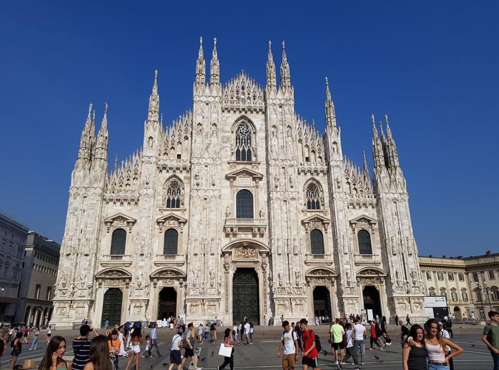 Indrukwekkend bouwwerk in Milaan. Gemaakt door Astrid Waals. © Kliknieuws Uden