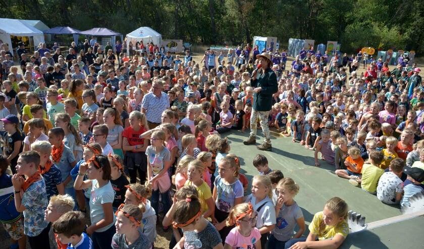 De Slabroekweek in Uden ging maandag van start. (foto: Henk Lunenburg)