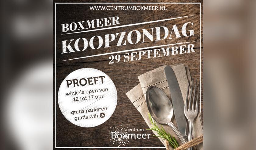 Boxmeer Proeft, op zondag 29 september in het centrum van Boxmeer.