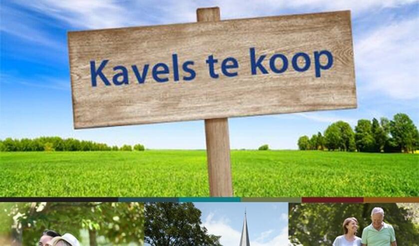 Nieuwe kavels voor zelfbouw in Herpen in verkoop