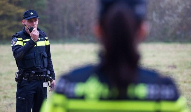 De politie is op zoek naar de dader.  © Kliknieuws Veghel