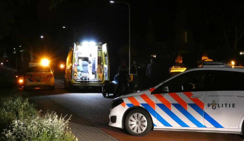 Fietser ernstig gewond bij ongeval op Hescheweg. (Foto: Thomas)  © 112 Brabantnieuws