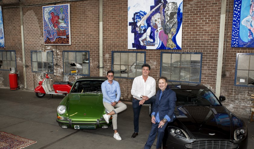 Bijzondere expositie Gerry Jilesen bij Hermans & Hermans Automotive Auctions in Boxmeer.
