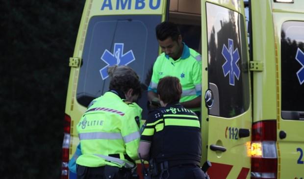 Fietser gewond bij ongeval op Nieuwe Hescheweg. (Foto: Gabor Heeres / Foto Mallo)  © 112 Brabantnieuws
