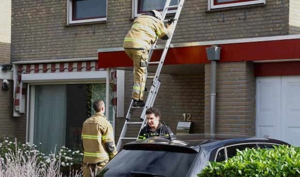 Brandweer opgeroepen voor keukenbrand in Professor Oudstraat. (Foto: Gabor Heeres / Foto Mallo)  © Kliknieuws Oss