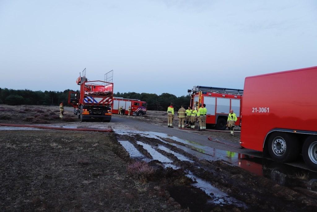 Oefening van natuurbrandbestrijding in Sint Anthonis. Foto: SK-Media.nl © 112 Brabantnieuws