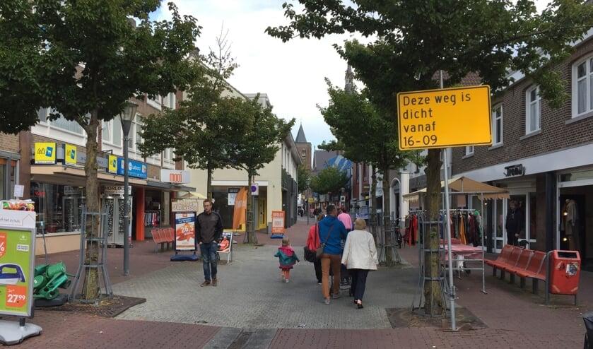 De Korte Molenstraat in het centrum van Cuijk gaat vanaf maandag 16 september flink op de schop.